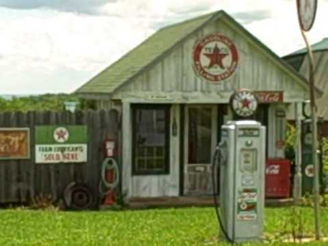 Out-of-town Benton, NY : OLD Gas Pumps