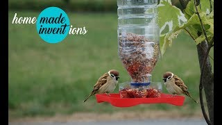 How to Make a Bird Feeder - Homemade Inventions