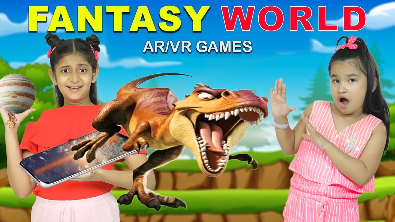 Kids Pretend Play Magical and Adventurous World ft. MyMissAnand l ToyStars