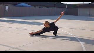 Wushu Back Sweep Part 1 - Tess Kielhamer