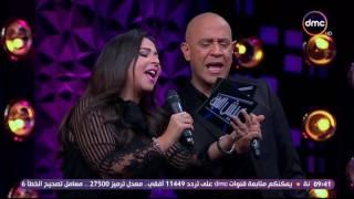 إيمي غانم تشعل برنامج «أشرف عبدالباقي» بأغنية حسن الأسمر«انا أهو»..فيديو