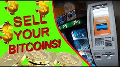 Bitcoin ATM, how to sell Bitcoins