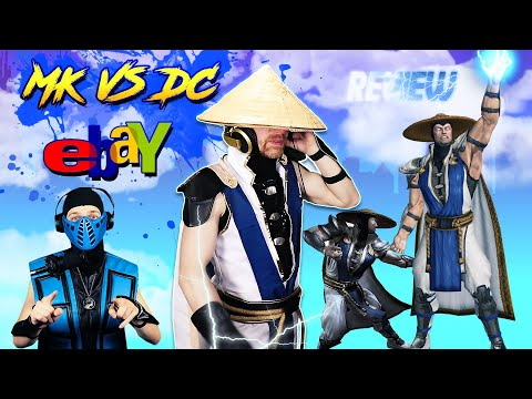 Raiden Reviews His MK VS DC Armageddon Costume From EBAY| MK11 PARODY!