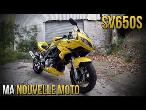 MA NOUVELLE MOTO ! SV650S