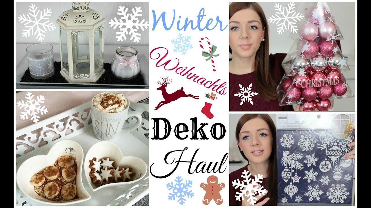 Winter weihnachts deko haul dm nanu nana depot for Nanu nana hochzeit