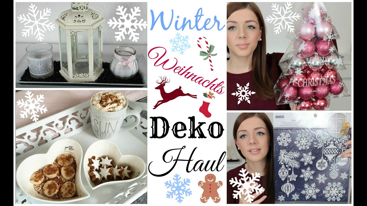 Winter Weihnachts Deko Haul Dm Nanu Nana Depot
