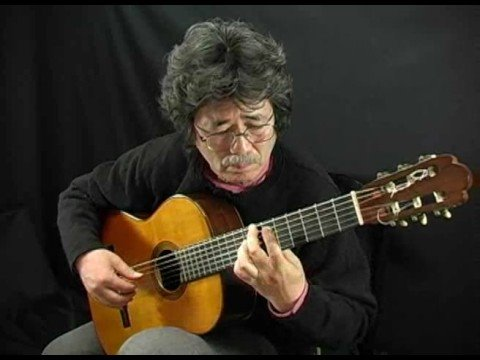 Classical Guitar Of Tabei Romance De Amour