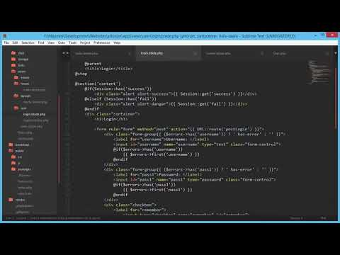 PHP Beginner Tutorial  Laravel Forum Software Part 7