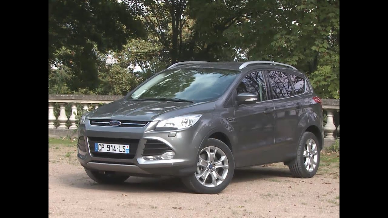 essai ford kuga 1 6 ecoboost 182 ch 4x4 bva6 titanium 2013 youtube. Black Bedroom Furniture Sets. Home Design Ideas