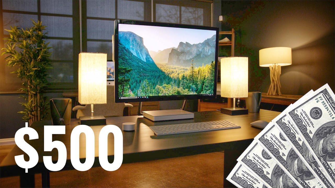 The Best Desk Setup For 500