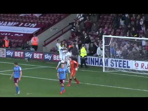 HIGHLIGHTS: Scunthorpe United 1 Northampton Town 1