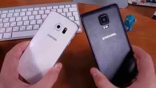 Samsung Galaxy S6 Edge vs Samsung Note Edge Сравнение 4K