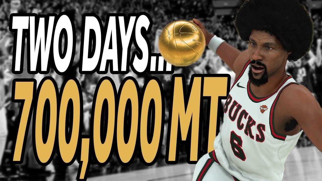 1b7a600dfefa NBA 2K18 - MyTeam - SNIPE 700K in TWO DAYS!!! - YouTube
