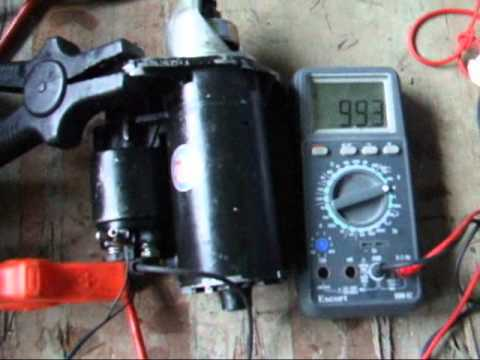 Land Rover V8 Starter solenoid fix - YouTube