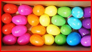 開出奇蛋彩蛋認顏色,發現佩佩豬粉紅豬小妹小小兵凱蒂貓的玩具