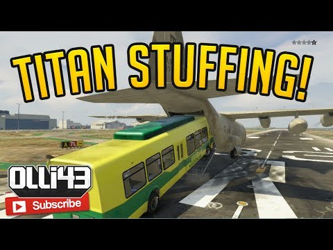 TITAN STUFFING! Olli43 vs Geo23 - Episode 1 (GTA 5 Funny Moments)