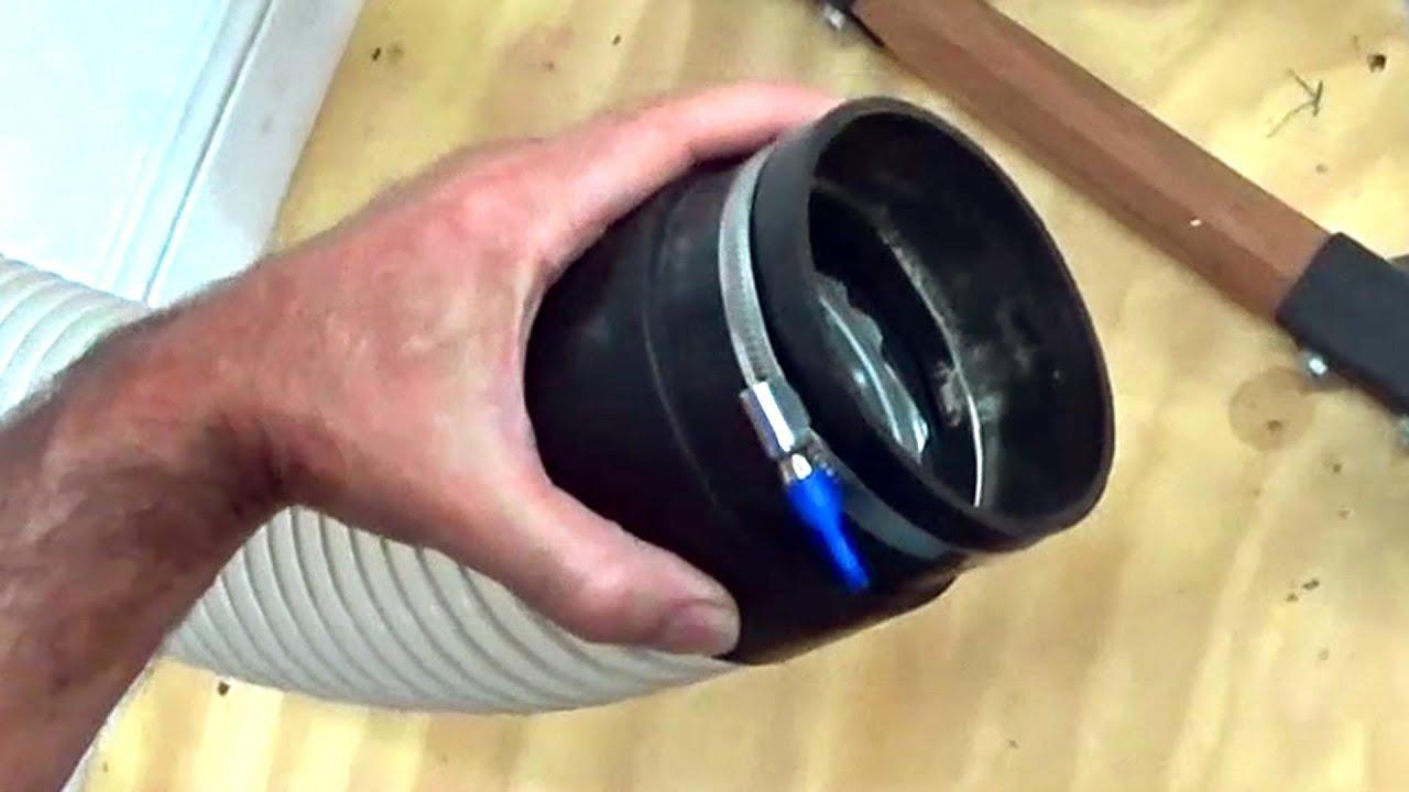 Thumb screw hose cl& & Thumb screw hose clamp - YouTube