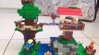 Como construir uma Casa na árvore de Lego 2 - parte 1
