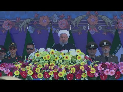 """Hassan Rouhani: """"The US, Britain and France invaded Syria without the permission of the U.N."""""""