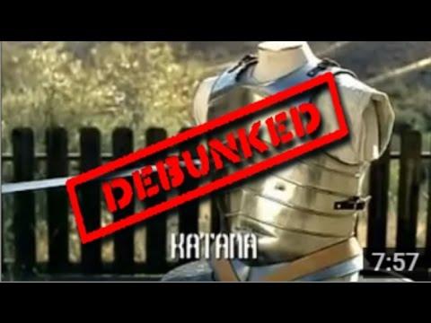 Japanese Katana VS European Longsword   Samurai sword VS Knight Broadsword Answer Video - Destroyed