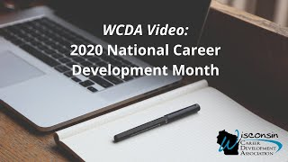 WCDA - 2020 National Career Development Month