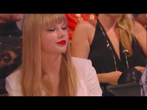 TAYLOR SWIFT MOCKS HARRY STYLES Brit Awards 2013 One Direction One Thing Or Another Live Music Video