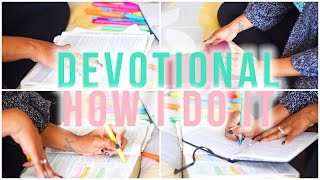 Devotional | How I Do It