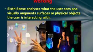 Seminar Topic on Sixth Sense Technology