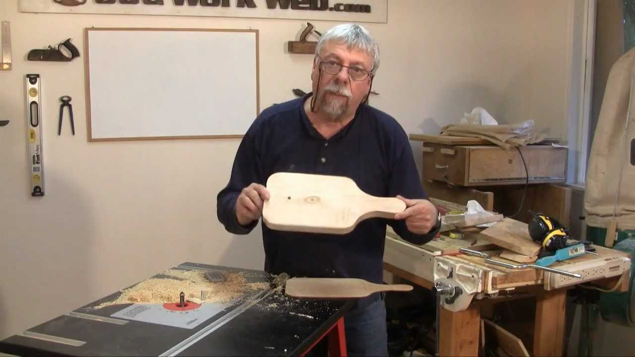 Pattern or template making with the router a woodworkweb youtube premium greentooth Image collections
