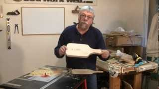 Pattern or Template Making with the Router - A woodworking video