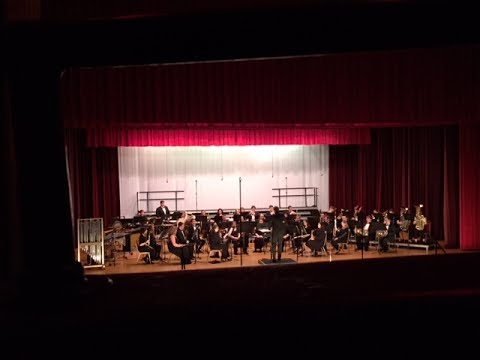 Westminster College Wind Ensemble, In Concert, Scottish Rite Cathedral, March 17 2017