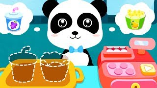 Fun Kitchen Cooking Kids Game - Little Panda's Dream Town - Let's Make Icecream, BBQ, Cooking Games