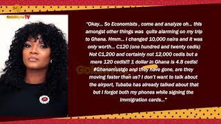 OMOTOLA JALADE EKEINDE SHADES NIGERIAN