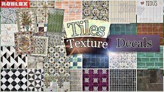 Decals Codes Tiles Textures   Decals Ids   Bloxburg ROBLOX