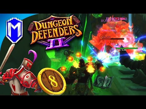 The DPS Abyss Lord, The Lord Of AOE Attacks - Let's Play Dungeon Defenders 2 Gameplay Ep 8