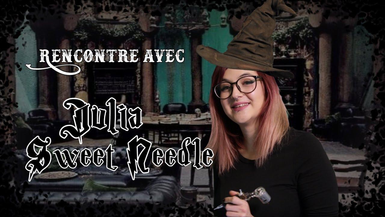 sweetneedle  Julia Sweet Needle : Magical Tattoo Girl - Color My Skin saison 2 Ep ...