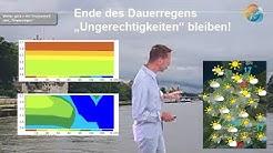 Aktuelle Wettervorhersage für 16. Juni 2020: Dauerregen ist zu Ende, neuer Regen bahnt sich an.