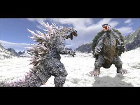 Godzilla & Gamera sound effects.