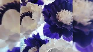 Ростовые цветы из изолона (обзор)