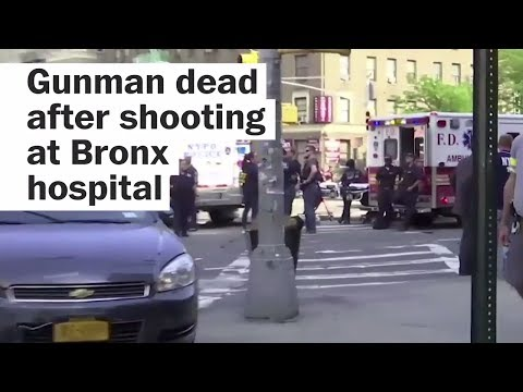 Gunman, 1 dead after shooting at Bronx hospital