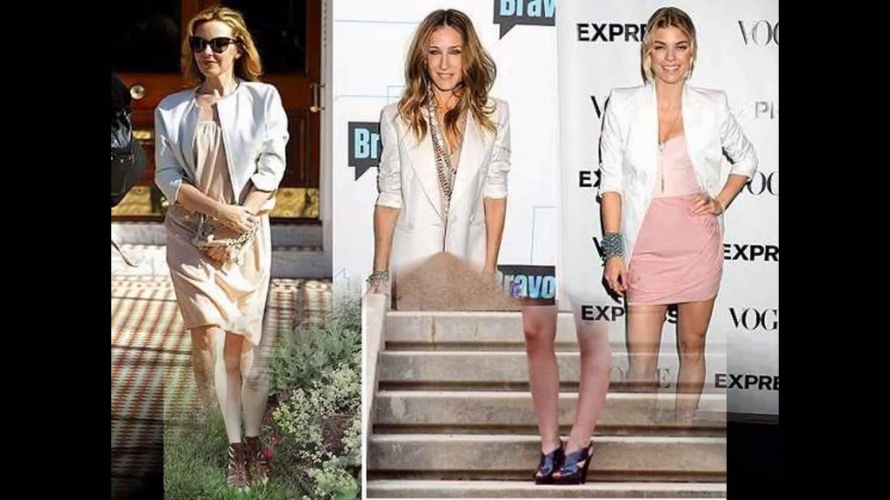 a51c54eb21b93 Outfits con blazer blanco para mujer - YouTube
