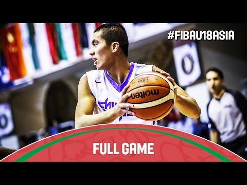 Chinese Taipei v India - Full Game - 2016 FIBA Asia U18 Championship