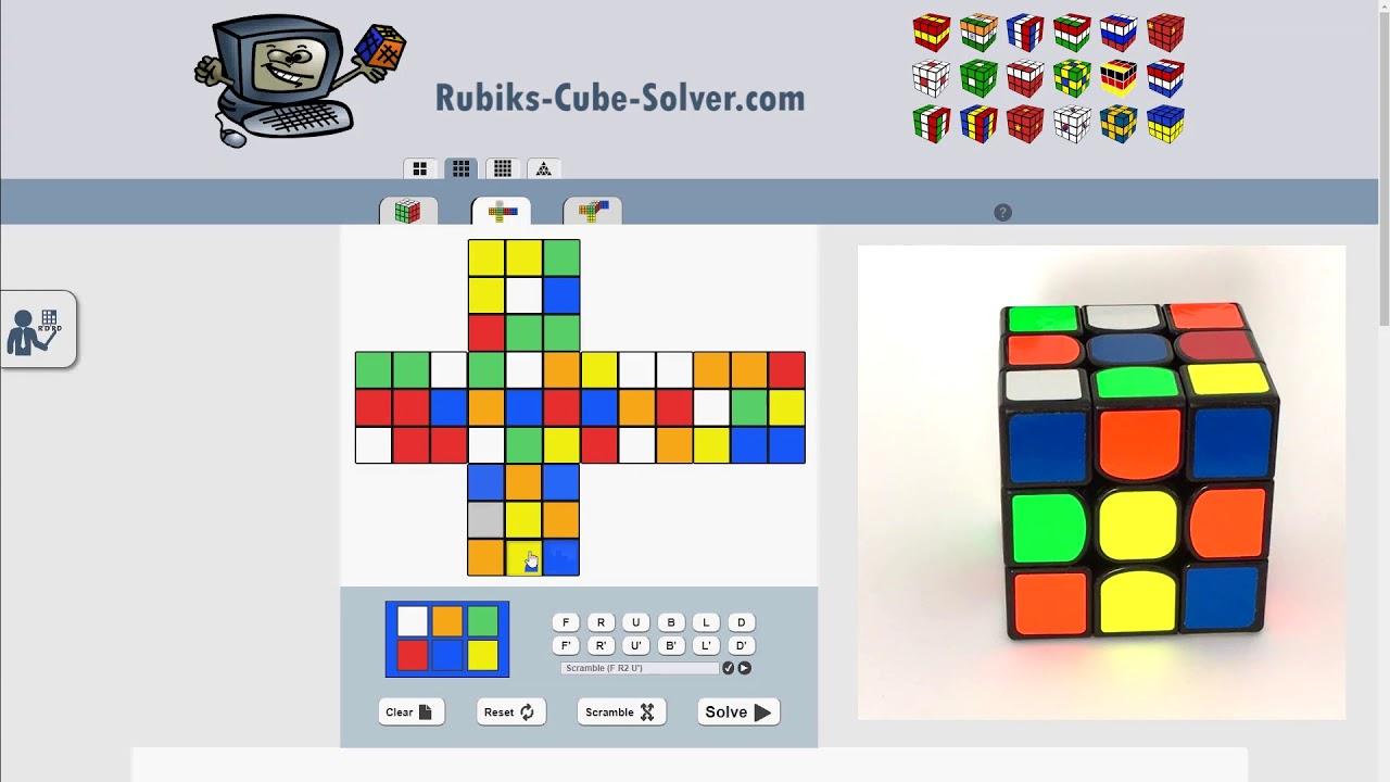 Rubik's Cube Solver - 𝗧𝗵𝗲 𝗕𝗲𝘀𝘁 𝗙𝗿𝗲𝗲 𝗢𝗻𝗹𝗶𝗻𝗲 𝗔𝗽𝗽