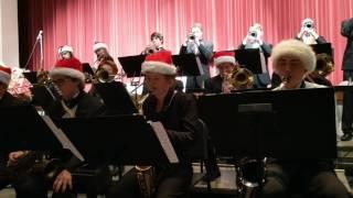 Jazz band Holiday concert 2, December 8, 2016