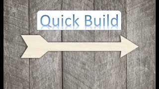 Diy Rustic Wooden Arrow