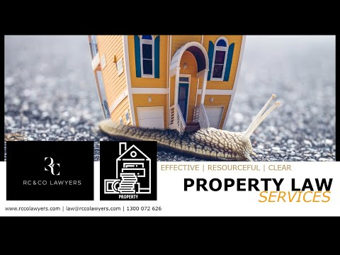 RC & Co Lawyers | Property Services