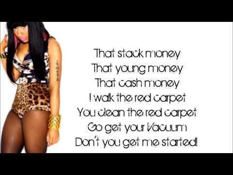 Nicki Minaj-Grindin Makin Money(lyrics verse)