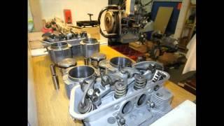 restauration moteur porsche 912 1966.wmv
