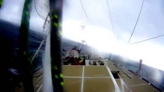 GREAT Britain yacht in dramatic knockdown by tornado in Clipper Race