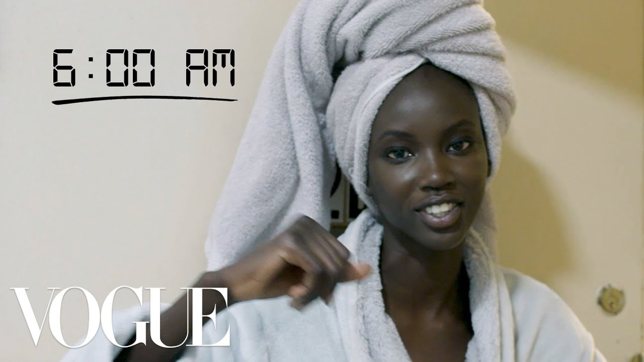 How Top Model Anok Yai Gets Runway Ready | Diary of a Model | Vogue